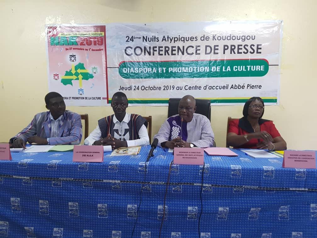 Festival international des Nuits Atypiques de Koudougou, XIVe édition : Une édition dédiée à la diaspora Burkinabè.